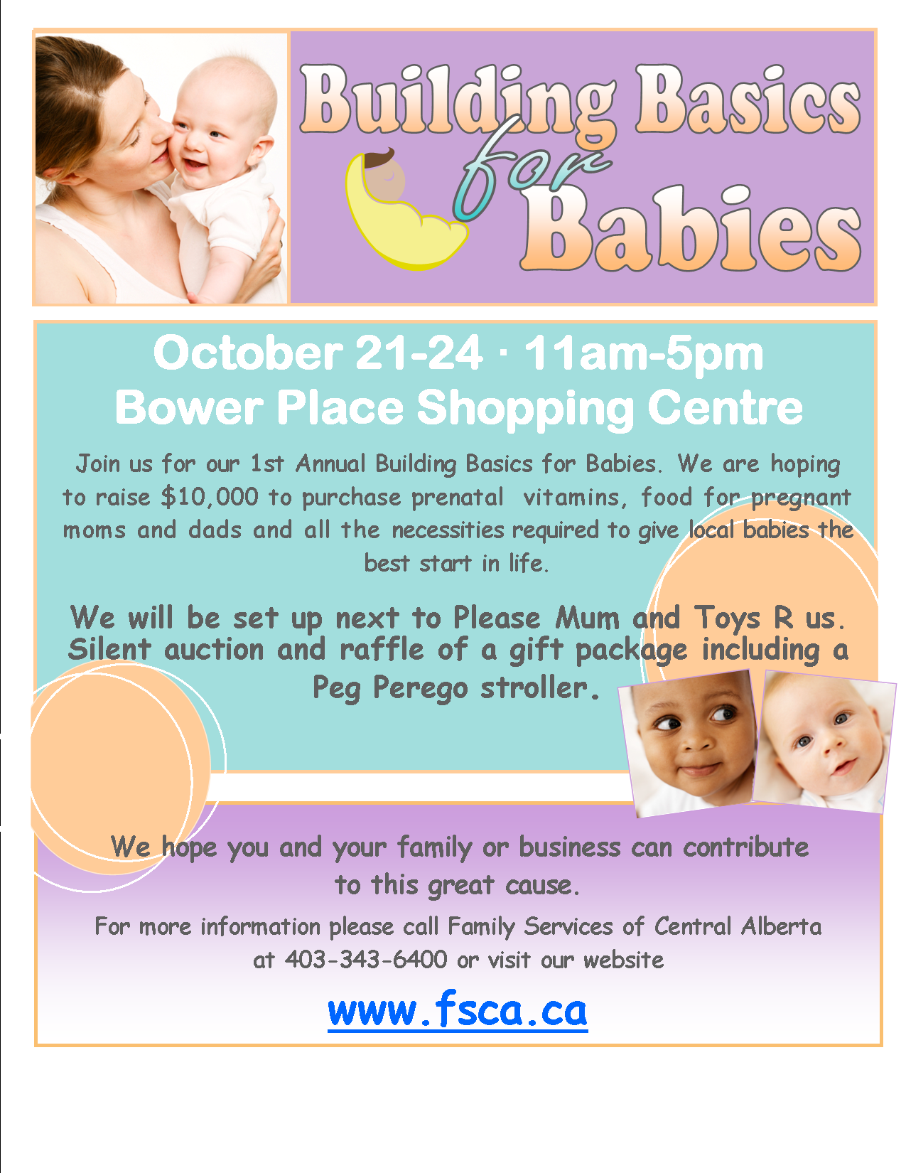 Building Basics for Babies in Red Deer
